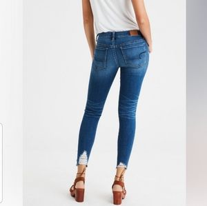 AEO High-rise Jeggings Crop Jeans